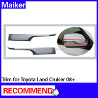 Door mirror cover Trim for Toyota Land Cruiser 08+ 2 pcs auto parts from Maiker 4*4 accessories