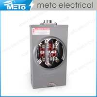 wenzhou outdoor residential 7jaw 200A three phase electric power socket