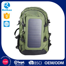 Custom Cheap Solar Backpack For Laptop Charger
