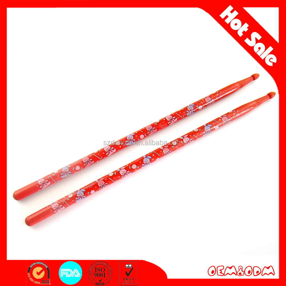 Fashionable wholesale supplier colored birch drumstick