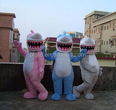 High quality adoable shark mascot costume,adult shark mascot costumes for advertising