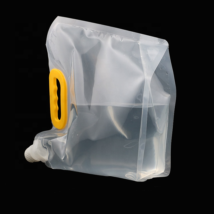 1 gallon beverage disposable waterproof drink pouch water plastic bag