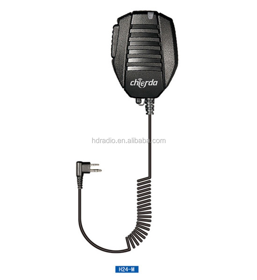 Microphone Speaker With VOX For Two Way Radio From China Factory