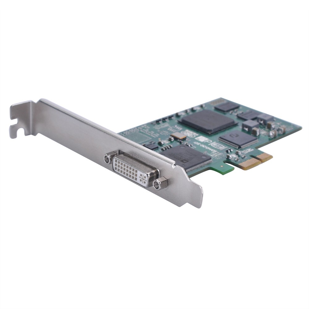 Computer use HD 1080P PCI-E Frame Grabber DVI Capture Card support HDMI VGA DVI Component input 1080@60fps recorder ezcap294