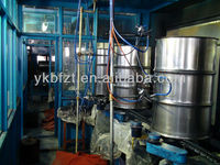 Painting Booth / Spraying Chamber for steel drum making machines or 200 liter steel drum manufacturing line
