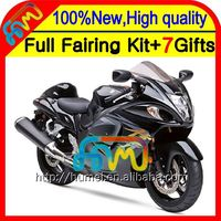 8Gifts For SUZUKI Hayabusa GSXR1300 08 09 10 11 19XH51 GSX R1300 2008 2009 2010 2011 GSXR 1300 Factory black 12 13 14 15 Fairing
