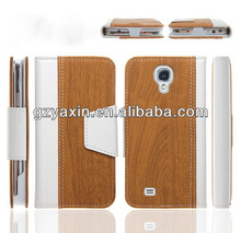 For samsung galaxy s4 bamboo case,New Style Hot Sale Mobile Phone PU Leather Case for Samsung Galaxy S4 I9500