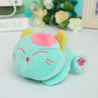custom high quality new style soft cute plush cat toys