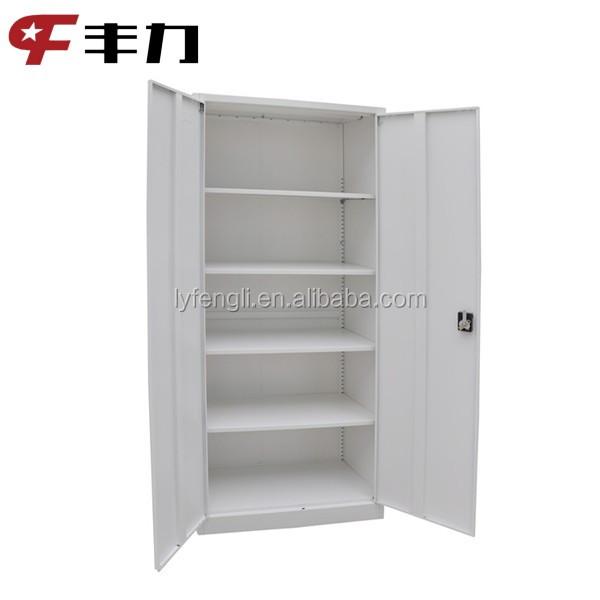 kd metal office furniture swing door filing cabinet full