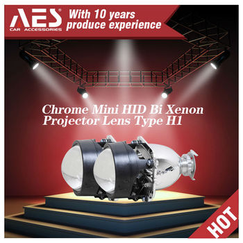 AES Factory 2.5 inches 4300k 35w BI-xenon light projector lens