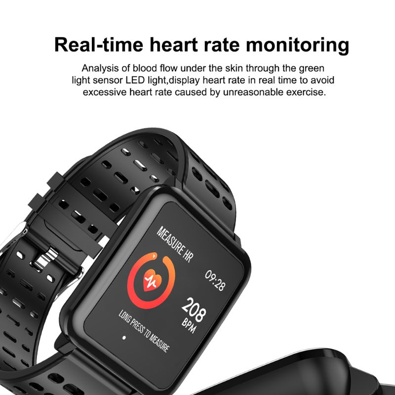 T2 Smart Watch IP67 Life Waterproof Professional Sport Modes Long Standby Support Multiple Languages Smartwatch