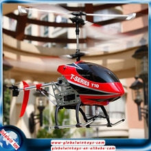 Popular hobby toy metal airplane model middle size 2 colors RTF copter with gyro&lights rc helicopter made in china low prices