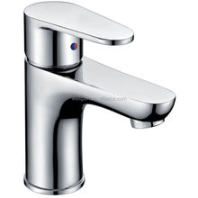 Modern Sanitary Brass Long Body Bathroom Basin Faucet