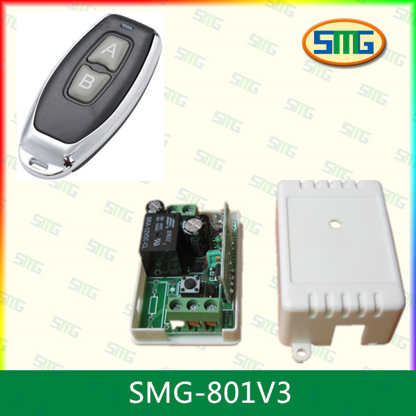 433mhz 12V wireless receiver transmitter, ev1527/pt2272 decoder