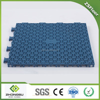 ZSFloor all weather plastic artificial sports court surface