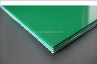 GLASS ROUGH TOP PVC CONVEYOR BELT