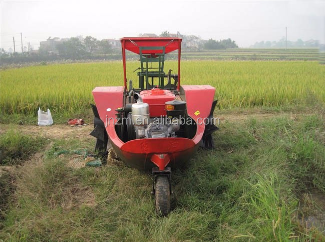 boat tractor for rice paddy field and dry land
