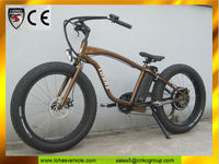 amazing bike Gold colored value battleship bicycle 500w