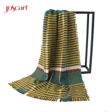 Europe fashion winter acrylic designer shawl girls poncho ponchos