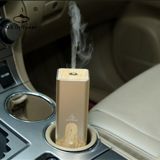 GX Diffuser LED Light Color Changing car scented air freshener/usb aroma diffuser