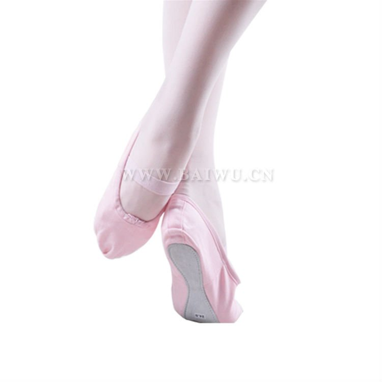 09D5B202 soft one sole canvas ballet shoes