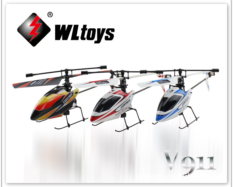 Hottest wltoys GW-TV911 upgraded version 2.4ghz 4ch gyro v911 rc helicopter aircarft with lcd screen rtf