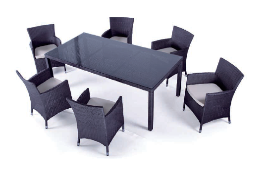 Hot sale modern garden patio furniture rattan