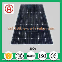 24v 260w mono solar panel direct from factory in China