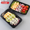 Super quality disposable plastic take away food box microwave take away lunch box