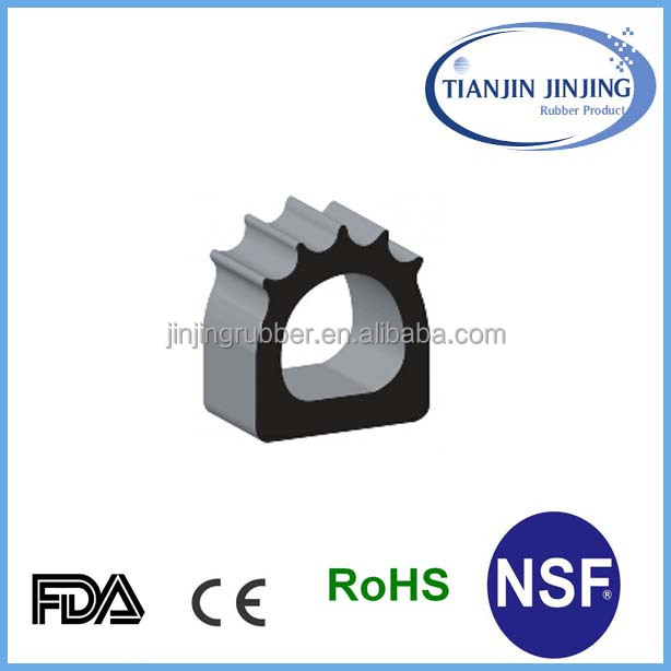 Door frame seal---wooden door rubber seals/wooden door rubber seals