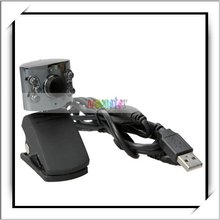 Laptop PC USB 6 LED Camera Mic Webcam