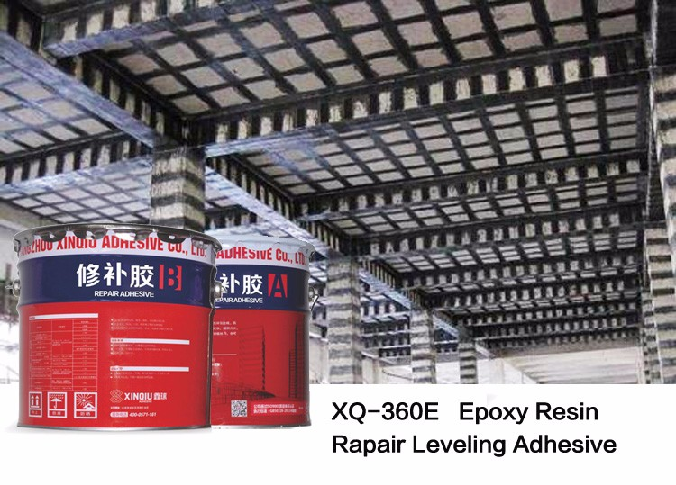 XQ-XB Xinchor Modified Epoxy Resin 180CE Concrete Leveling Adhesive / Glue for carbon fiber fabric