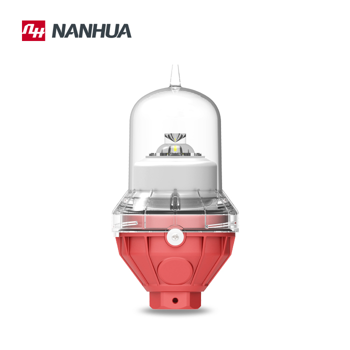 LS810 aviation obstacle light for telecom tower warning light ICAO LOW INTENSITY TYPE E 32CD