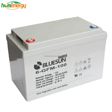 Long warranty GEL battery 12v 100ah GEL deep cycle dry cell battery ups with Certificate