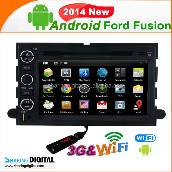 Android 4.2.2OS 2 din Radio Stereo gps Navigation with RDS system For Ford Mustang 2005-2009 sat nav uk
