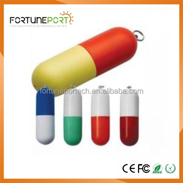 Medical Pill Shaped USB Flash Drive Medical Promotional Gift Items USB Pen Drive 64gb