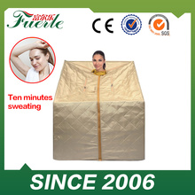 Most Popular Half Body Infrared portable steam sauna beauty spa