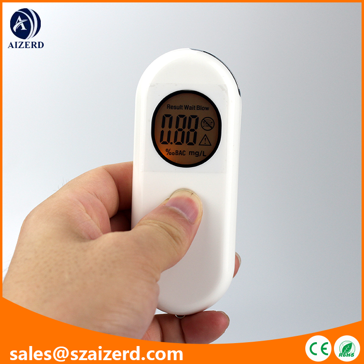 More Competitive LCD Digital Display Mutual Breathalyzer with Keychain