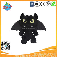 custom how to train your dragon toothless plush toy