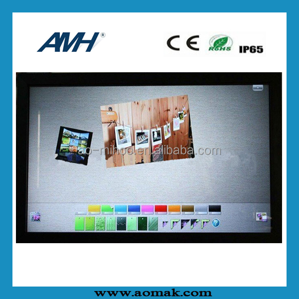 46 inch Industrial Control System Metal Housing Touch Screen Monitor