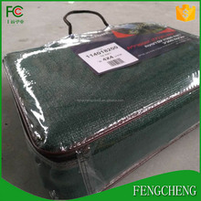 china sail factory supply high quality shade sail fabric 340g commerical 95 dark green color