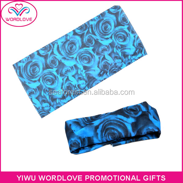 Sublimation Sports Headwear/Multifunctional Magic Scarf Kerchief
