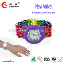 2014 new arrival silicone led watch usb