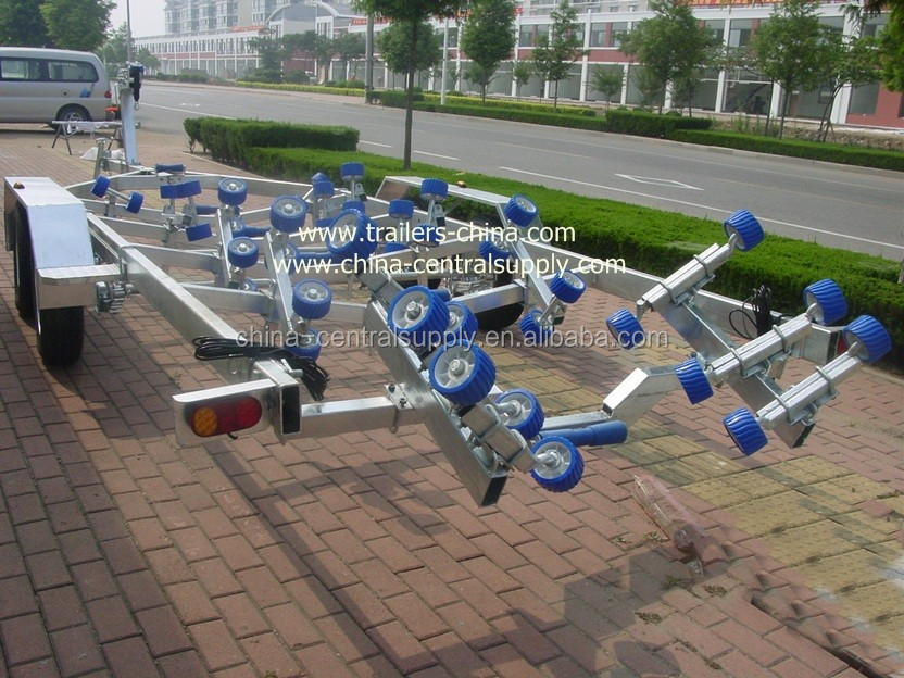 Boat trailer used aluminum 8.2m boat trailer of high quality BCT0109