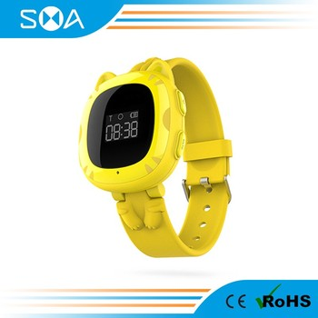 2017 Android Smart Watch Waterproof SOS Alarm GPS Sports Running Unique Kids Smart Watch