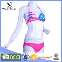 Customized LOGO Gorgeous Sexy Health Korean Bikini Model