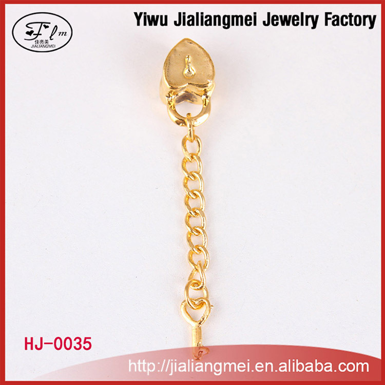 Gold plated cheap european beads for DIY bracelet jewelry
