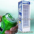 180L/228L/238L/288L/328L/338L/ 360L/380L/400L/430L/500L/600L Single Door Display Refrigerator Showcase with Lock
