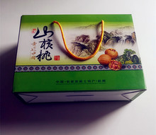 Cardboard packaging paper box for fruit