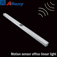 Radar sensor LED office linear light commercial & residential illumination